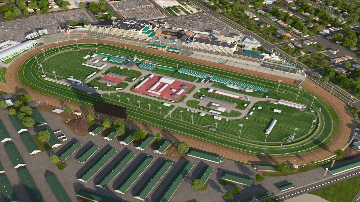 Churchill Downs Virtual Venue By Iomedia